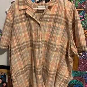 Alfred Dunner Button Up